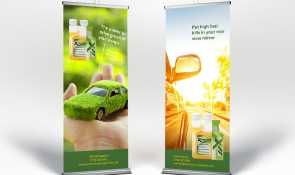 GES Roll-up Banner Design
